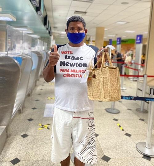 Leonardo Rafael conseguiu embarcar para Manaus - Foto: Divulgação