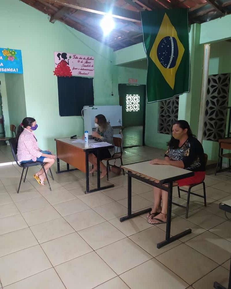 Milton Brandão: Município realiza matriculas de alunos  - Imagem 1