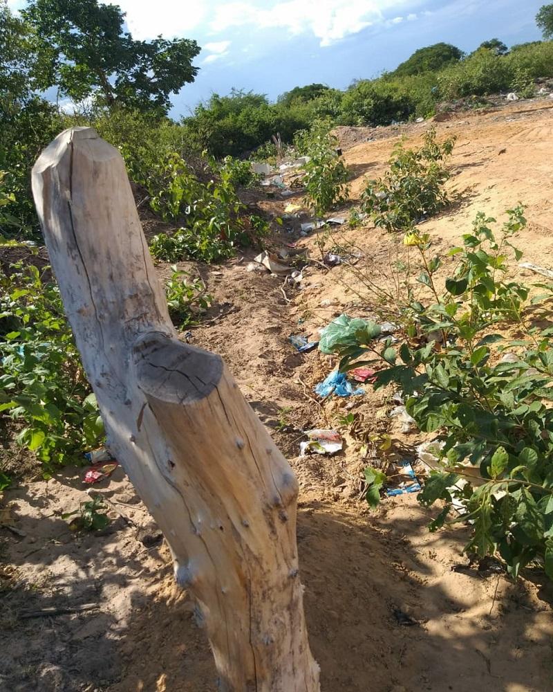 Milton Brandão: Município cercará novamente área de depósito do lixo recolhido na cidade - Imagem 2