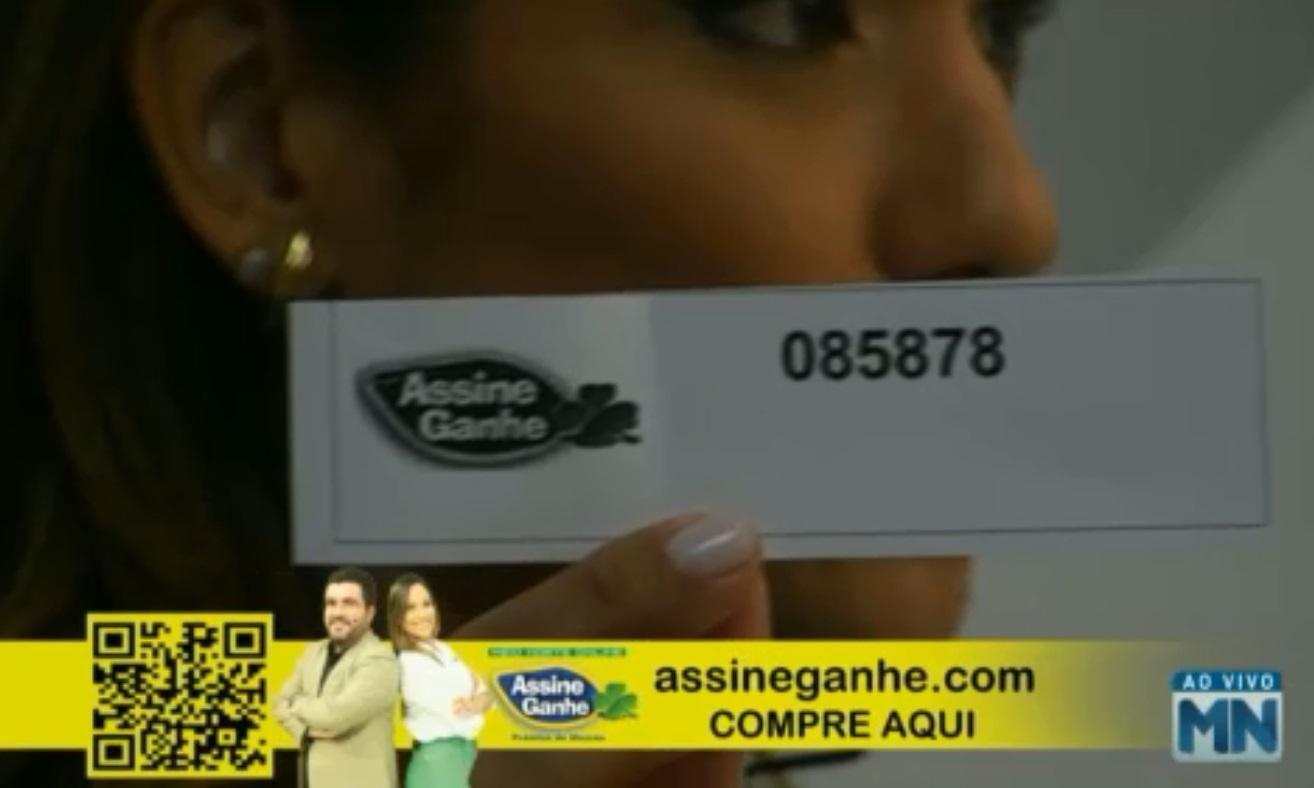 Assine Ganhe:123° assinante é sorteada;premiação ultrapassa R$ 500 mil - Imagem 1