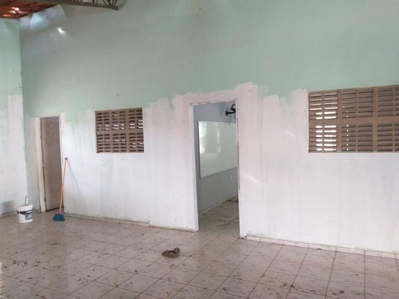 Milton Brandão: Município realiza limpeza nos colégios  - Imagem 3