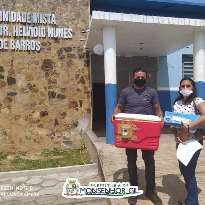 Monsenhor Gil recebe mais 50 doses da vacina contra a Covid-19 - Imagem 8