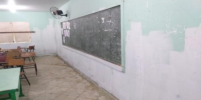 Milton Brandão: Município realiza limpeza nos colégios