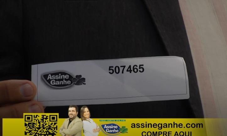 Assine Ganhe:125° assinante é sorteado; premiação ultrapassa R$500 mil - Imagem 1