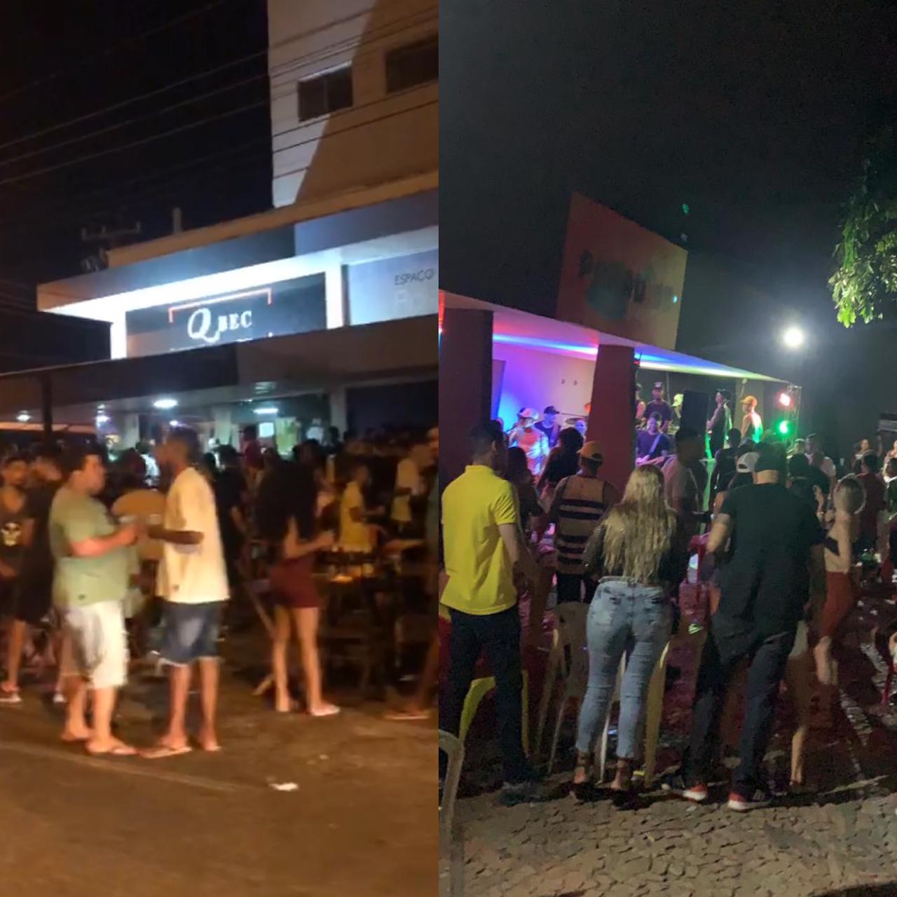 Mesmo com restrições, bares descumprem decreto e promovem aglomeração na zona Leste de Teresina