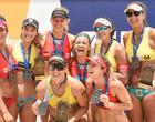 Brasil vence o desafio Campeãs da Areia de vôlei de praia