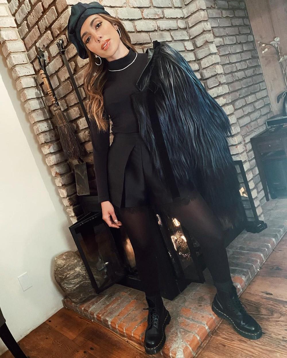 Anitta curte inverno nos EUA com looks estilosos na neve - Imagem 2