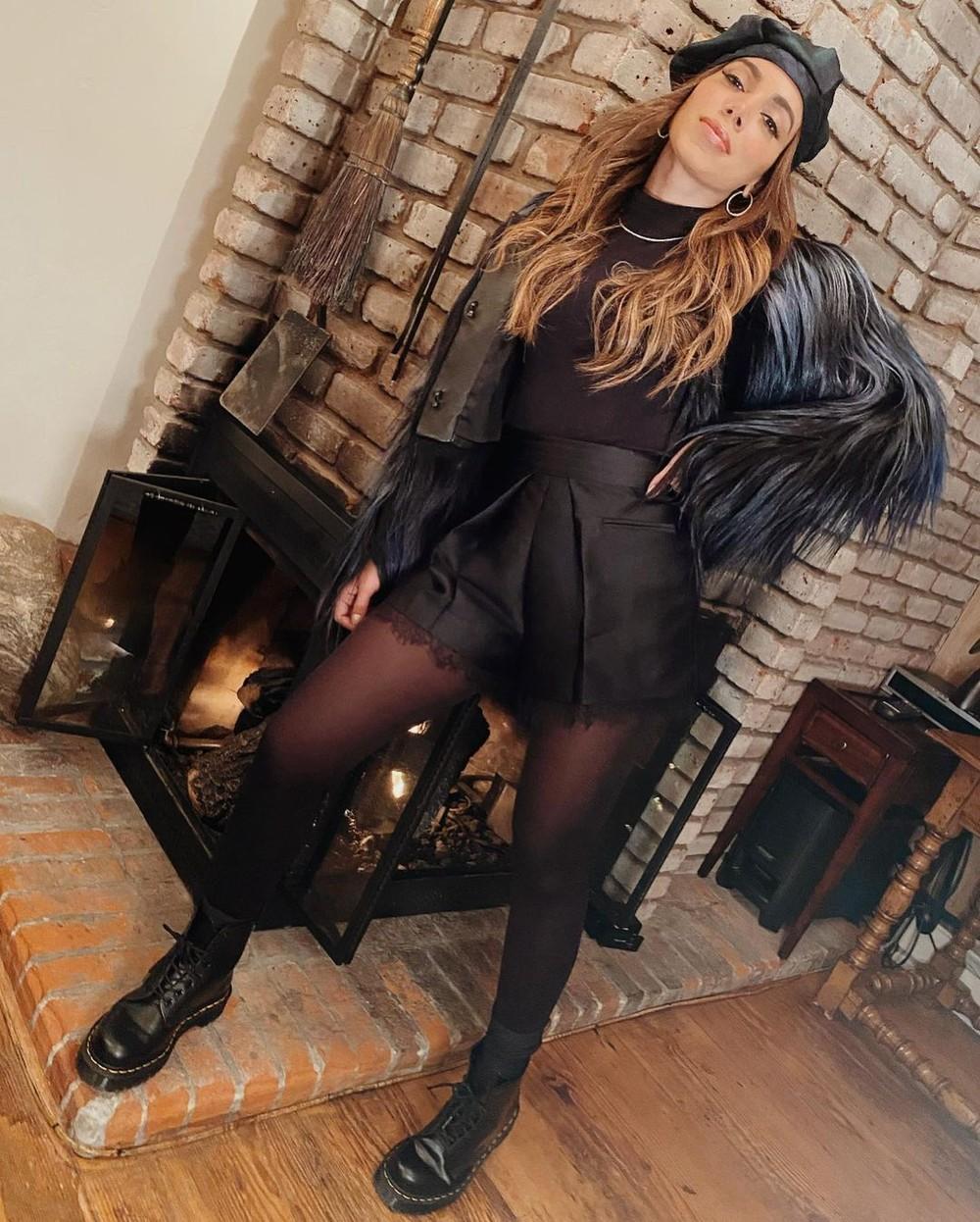 Anitta curte inverno nos EUA com looks estilosos na neve - Imagem 1