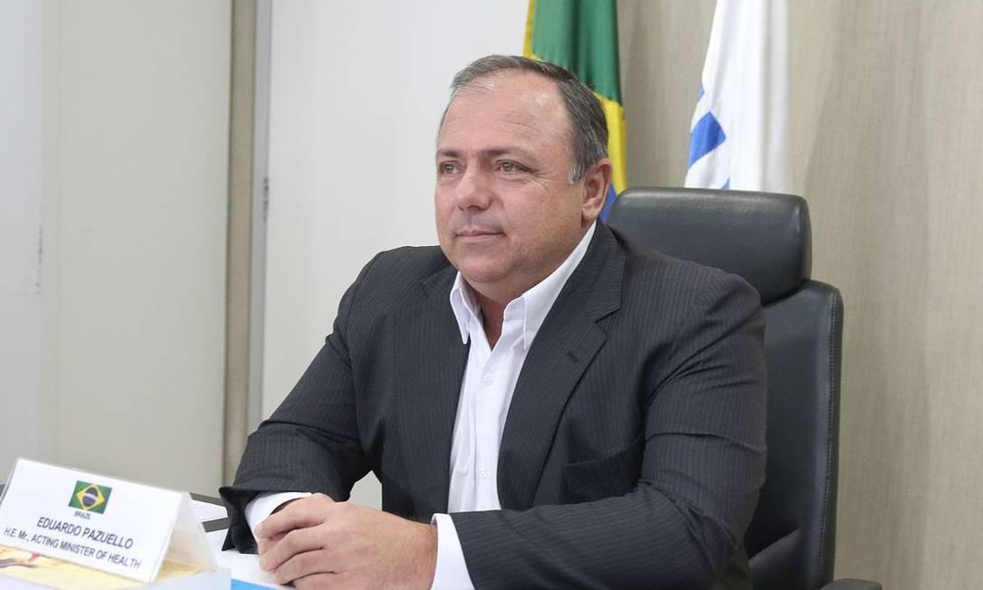 Ministro da Saúde fez pronunciamento em rede nacional de televisão nesta quarta-feira (6)
