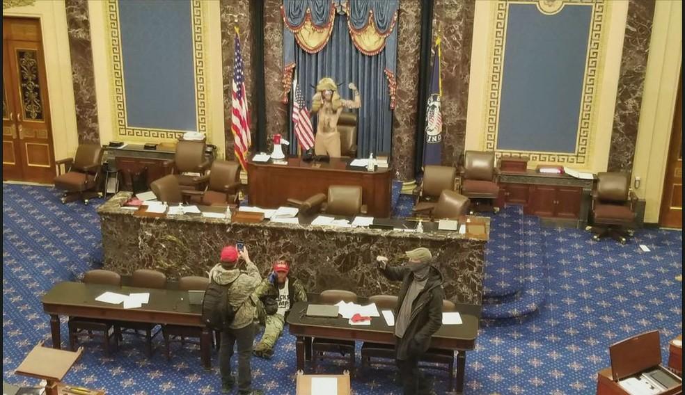 Congresso dos EUA confirma vitória de Biden na eleição presidencial - Imagem 3