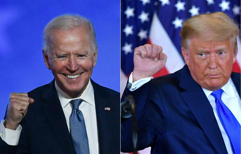 """Trump promete """"transição ordeira"""" nos EUA"""