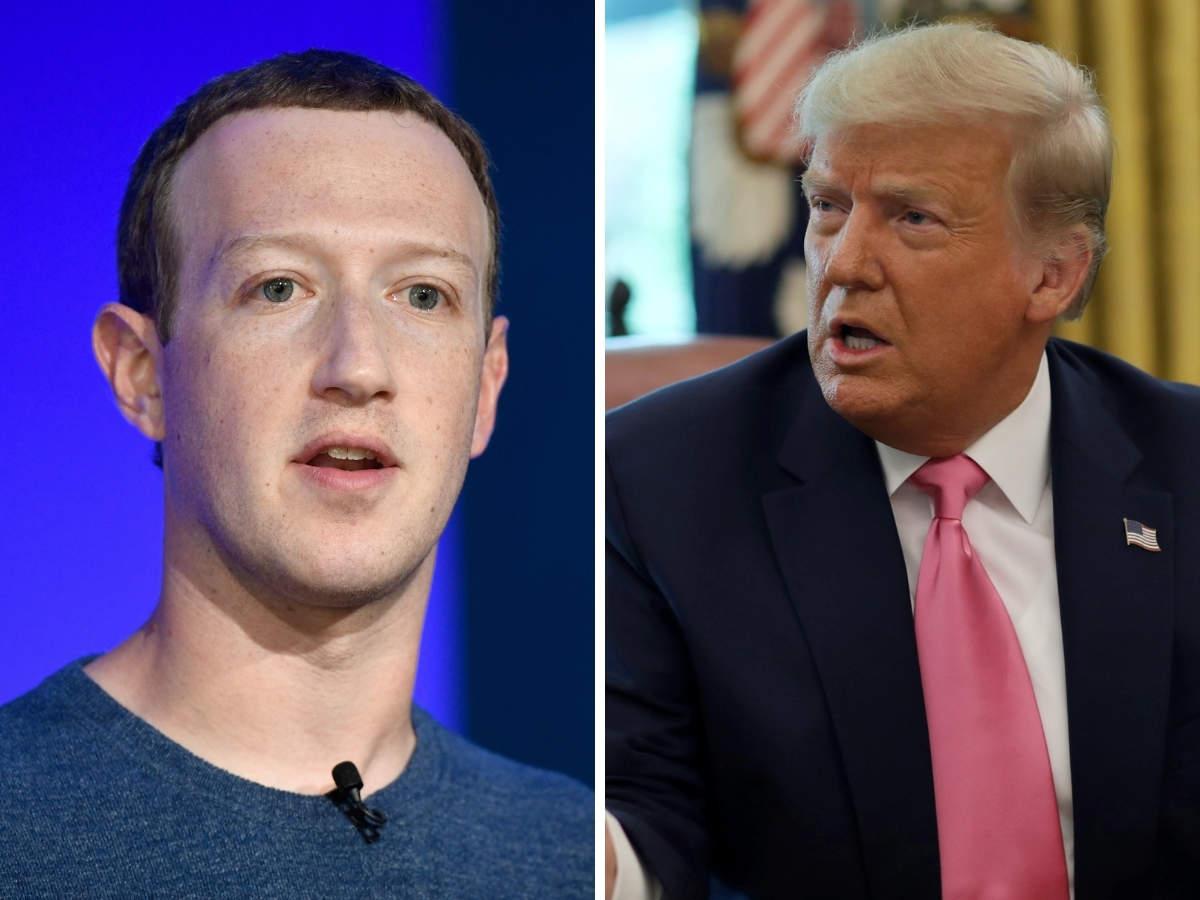 Mark Zuckerberg, anunciou nesta quinta-feira (7) que as contas do presidente dos Estados Unidos, Donald Trump, na plataforma e no Instagram serão banidas