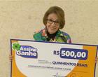 Assine Ganhe: Aposentada recebe prêmio de R$ 500 na TV Meio Norte