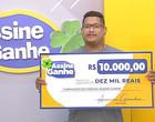 Assine Ganhe: Motoboy sorteado recebe R$ 10.000,00 na sede do GMNC