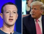 Facebook e Instagram vão banir Trump até fim do mandato,diz Zuckerberg