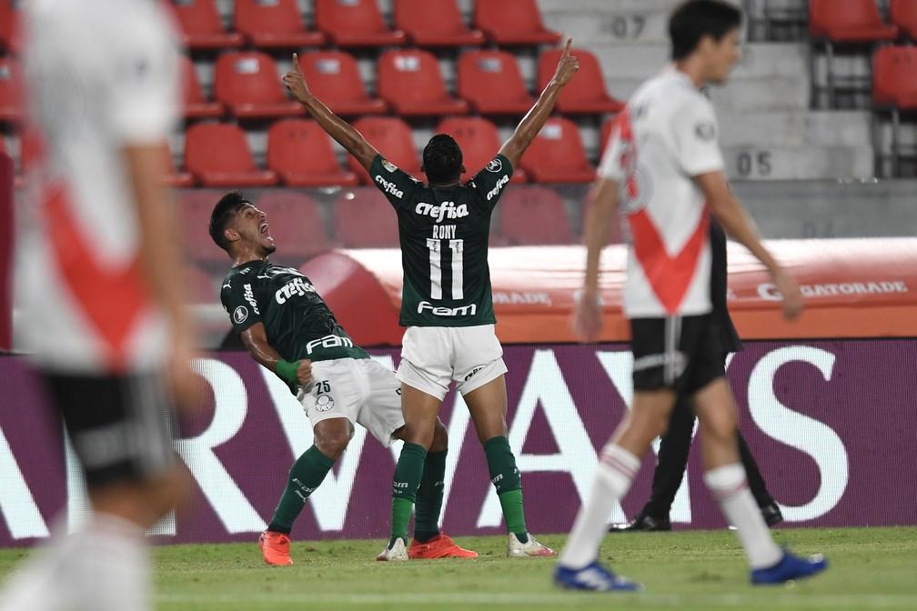 Palmeiras pode chegar à sua terceira final na temporada — Foto: Staff Images/Conmebol