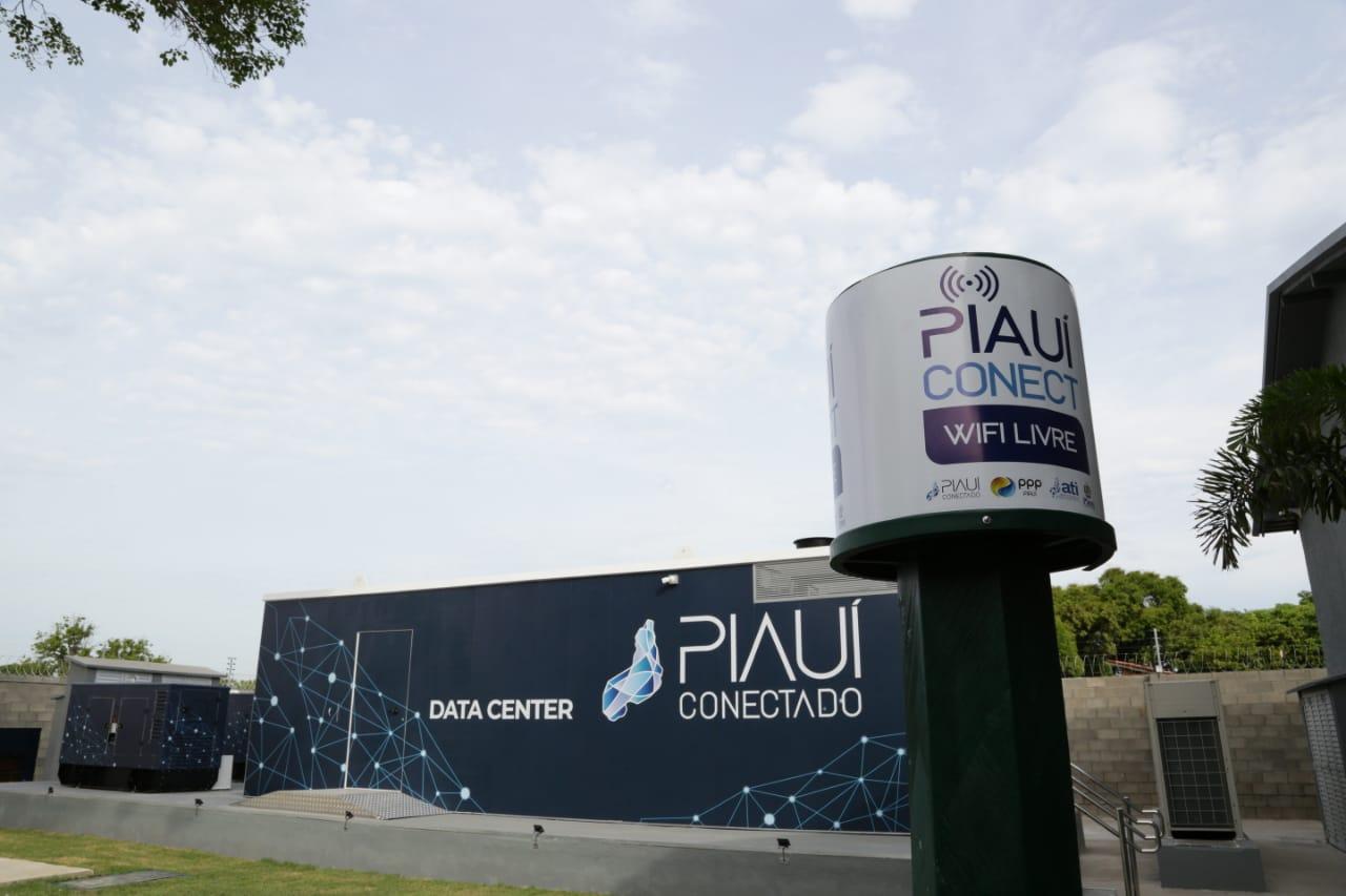 Centro de Controle e Inovação da Piauí Conectado, um dos projetos implantados no estado, que foram premiados   FOTO: REGIS FALCÃO