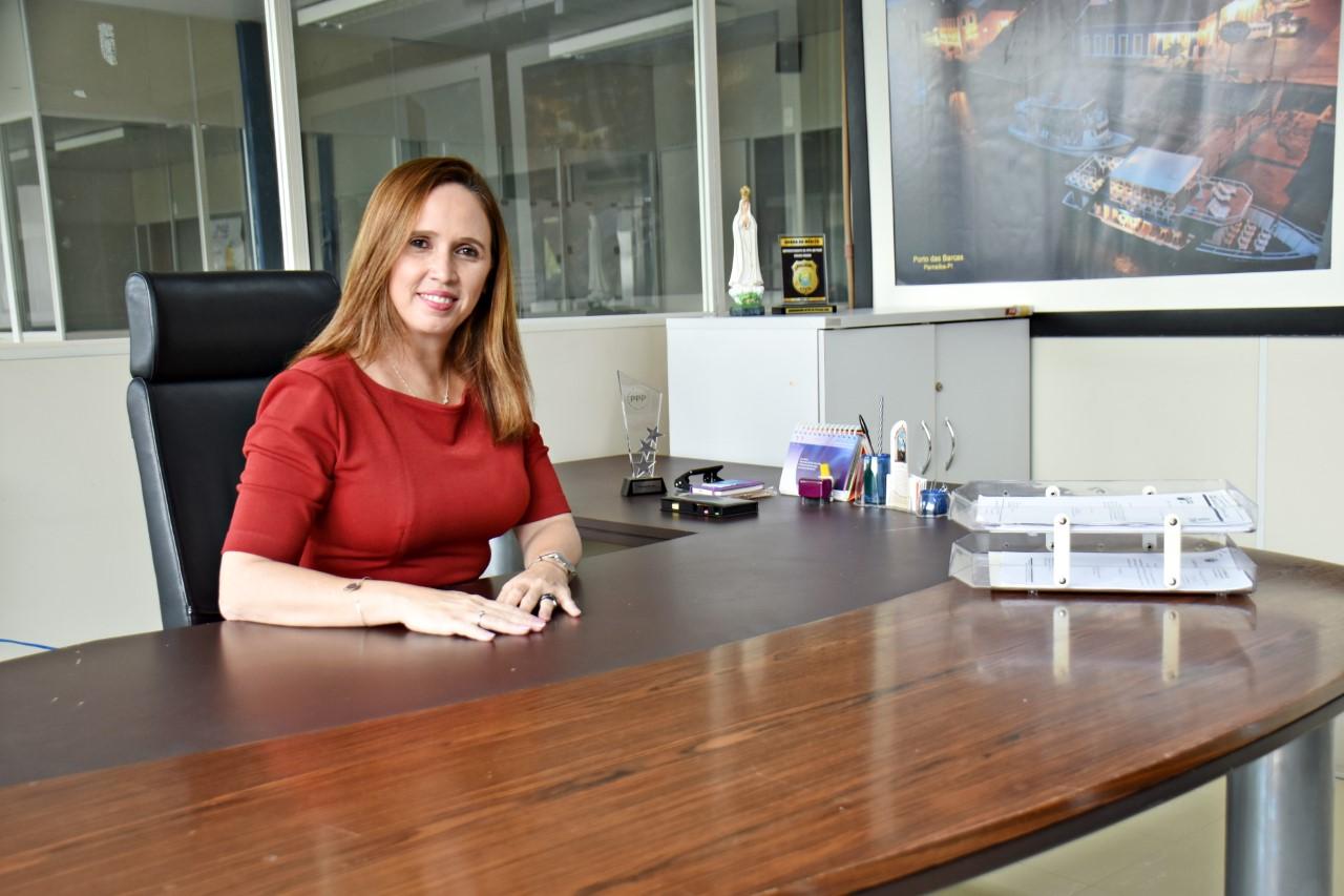 Viviane Moura, superintendente de Parcerias e Concessões   foto: Divulgação