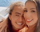 """Maria Lina curte passeio de barco com Whindersson: """"Sereio"""""""