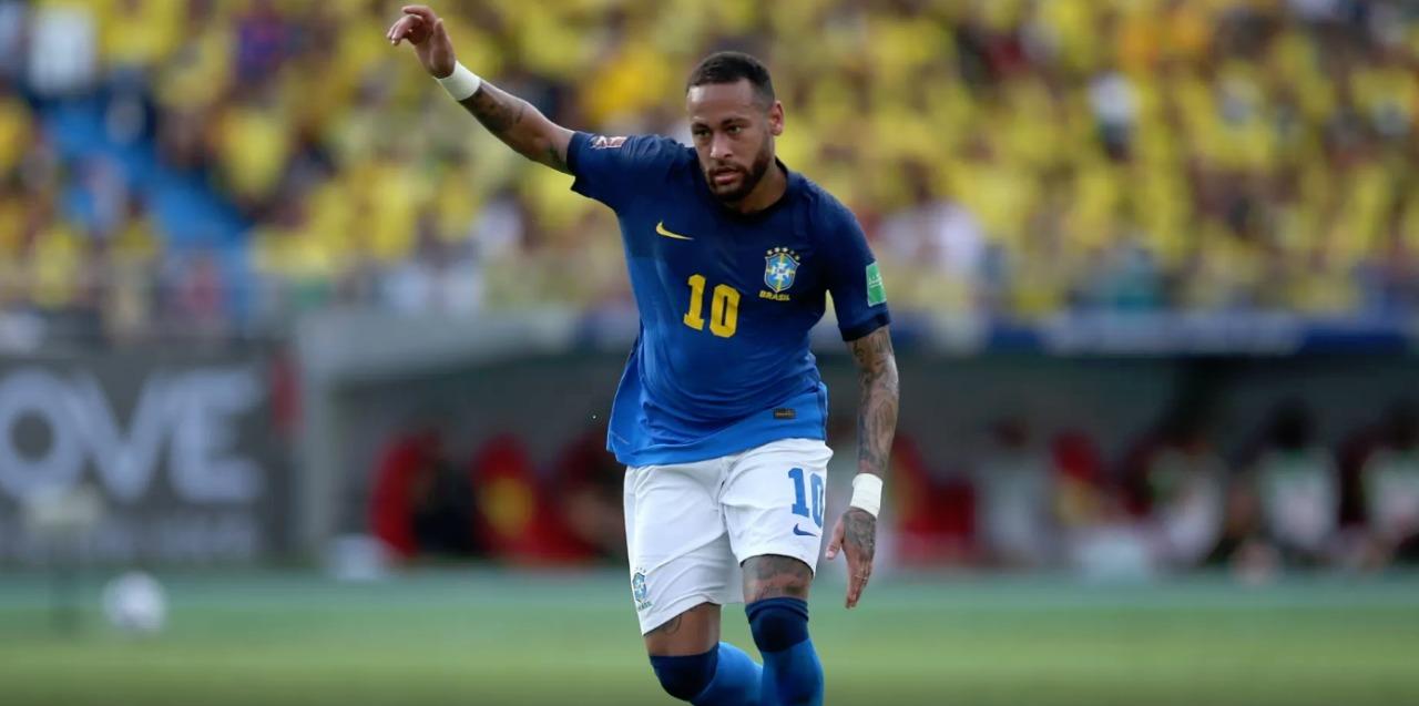 Neymar atuou no fim do jogo