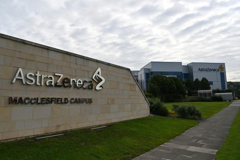 Sede da empresa britânica AstraZeneca