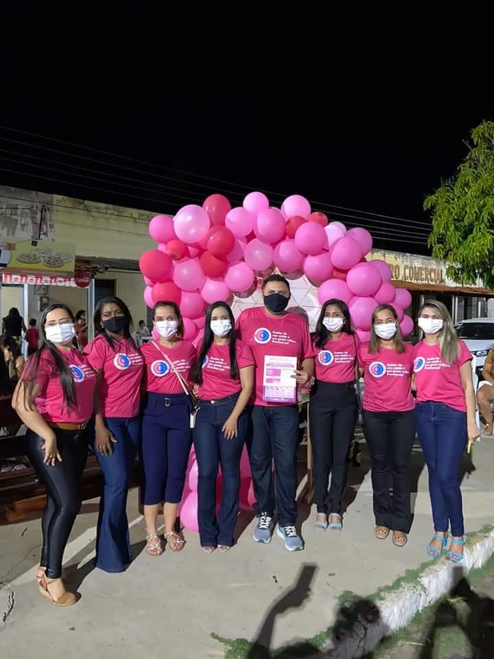Outubro Rosa é lembrado em Monsenhor Gil pela equipe da Secretaria de Saúde - Imagem 3