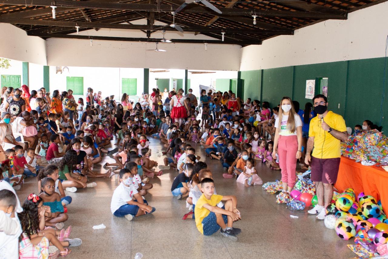 Água Branca comemora Dia das Crianças com várias atividades e presentes - Imagem 2