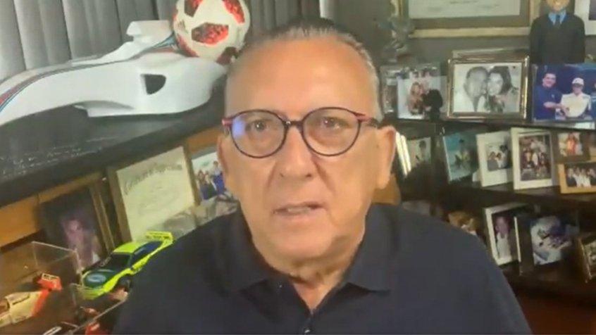 """Supostamente, Galvão Bueno teria chamado Neymar de """"idiota"""" em áudio vazado (Foto: Reprodução / Twitter)"""