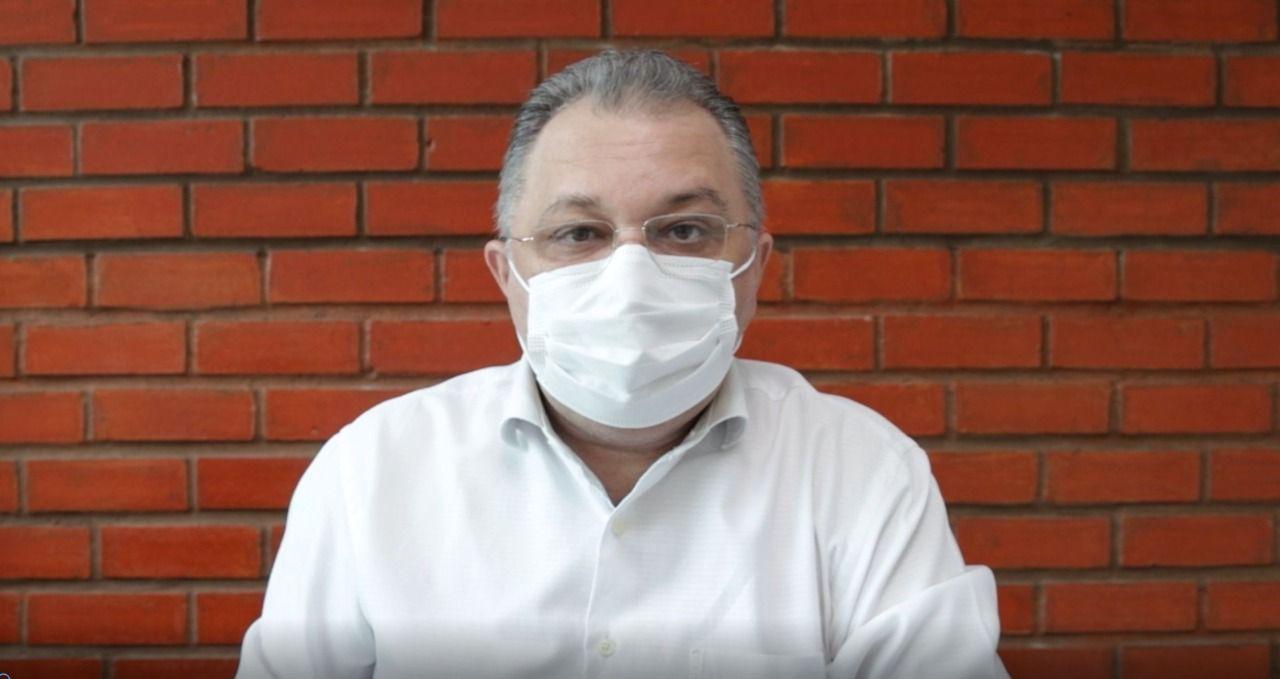 Florentino Neto diz que queda no número de internações se deve à vacina (Foto: Divulgação)