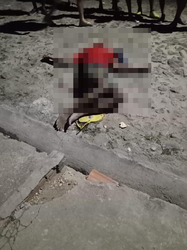 Suspeito de assalto é morto na zona sudeste de Teresina - Foto: Reprodução/WhatsApp