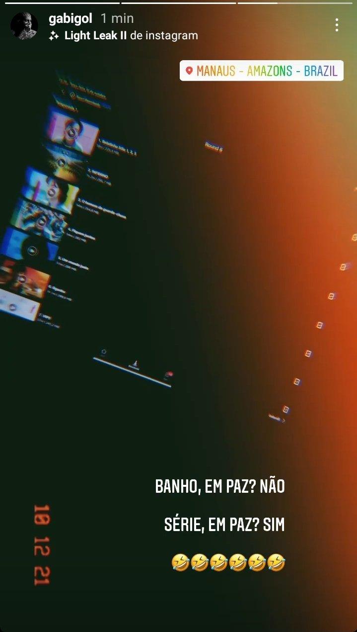 Jogador se pronunciou através dos stories do seu Instagram - Foto: Reprodução