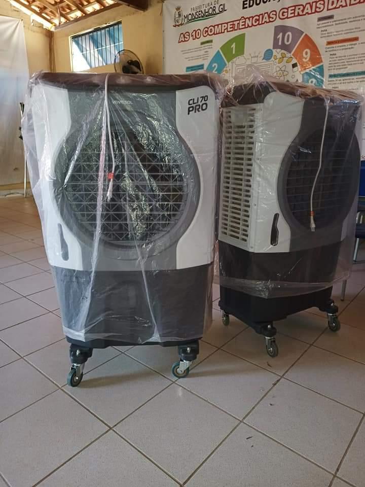 Ar condicionado. O fim do calor nas Salas de aulas de Monsenhor Gil - Imagem 3