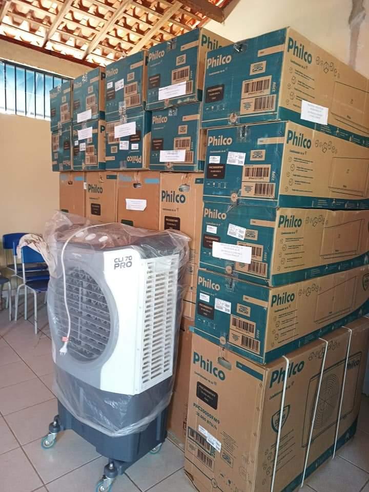 Ar condicionado. O fim do calor nas Salas de aulas de Monsenhor Gil - Imagem 4