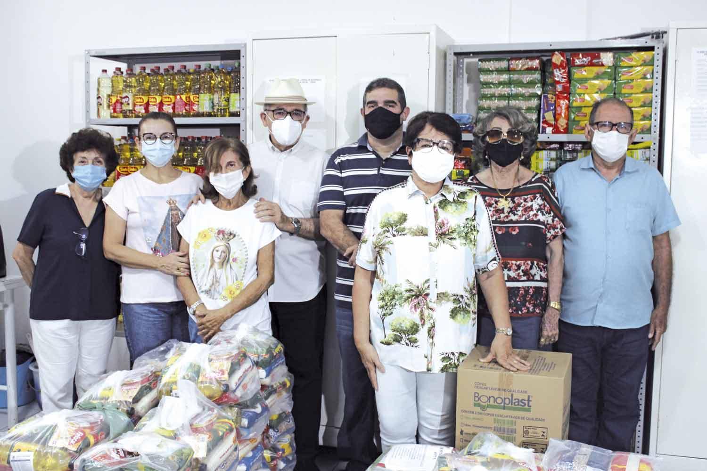Pastoral ajuda famílias em situação de vulnerabilidade social (Foto: Lucrécio Arrais)