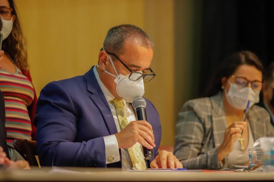 Deputado Henrique Pires, um dos autores do requerimento que propôs a audiência - Foto: Alepi