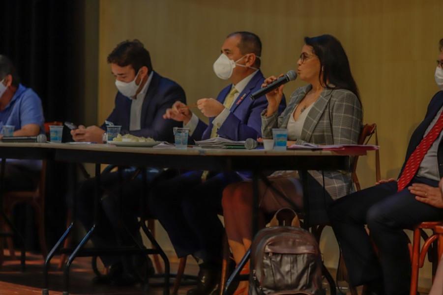 Deputados definiram encaminhamentos no final da audiência pública - Foto: Alepi