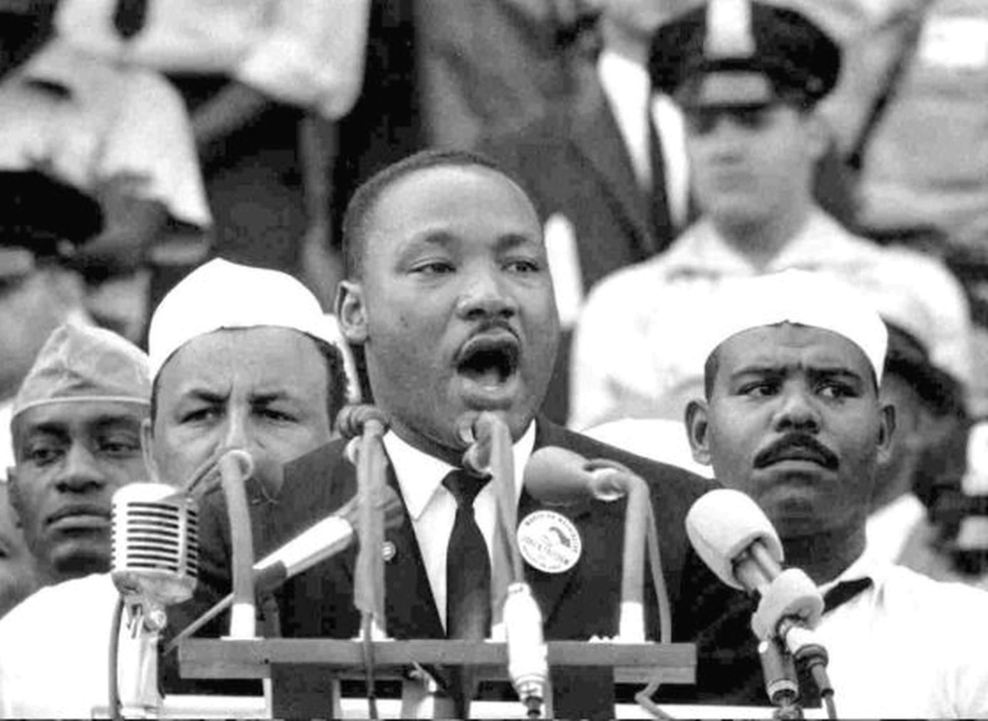 Luther King, em seu histórico discurso em Washington, em agosto de 1963 - Foto: Reuters