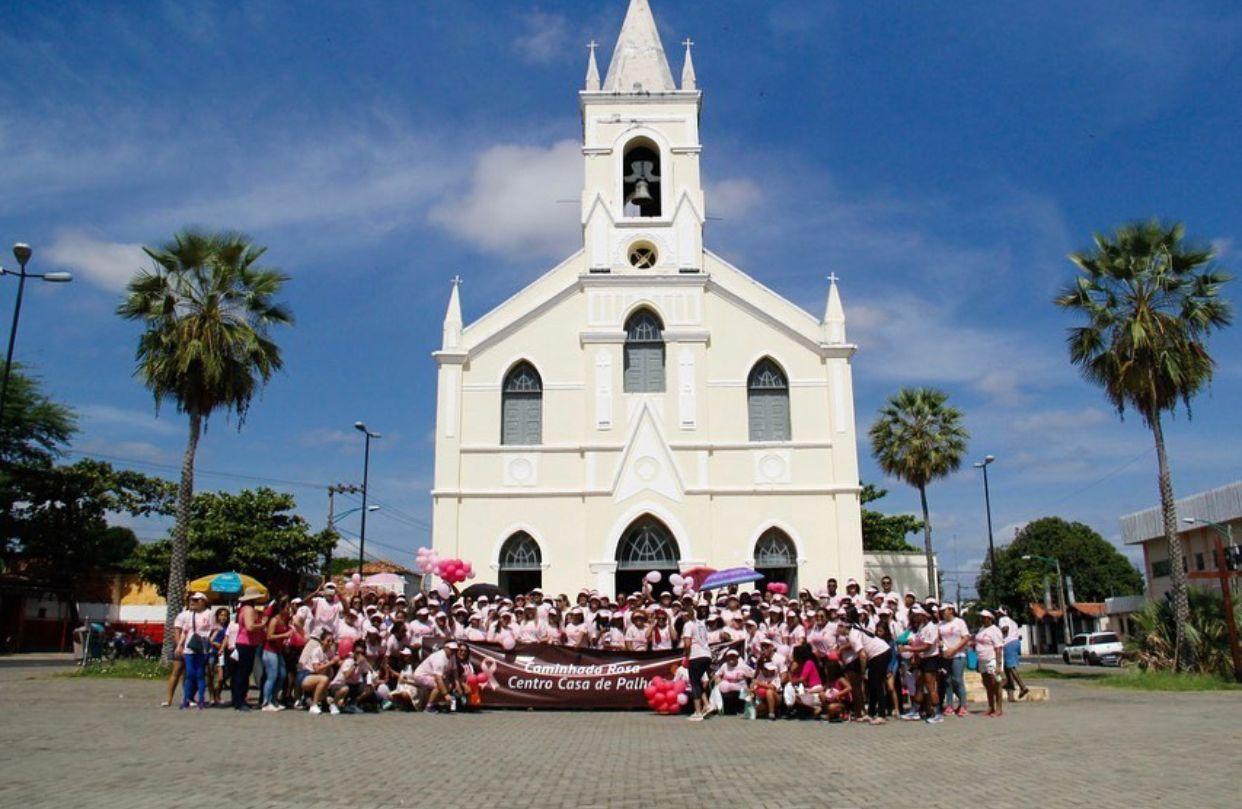 Evento da Casa de Palha - imagem registrada antes da pandemia (Foto: divulgação)