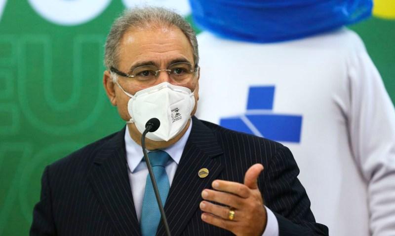 Ministro da Saúde, Marcelo Queiroga - Foto: Marcelo Camargo/Agência Brasil