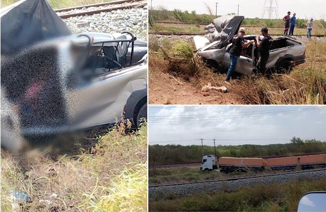 Picape ficou destruída após o acidente - Foto: Reprodução