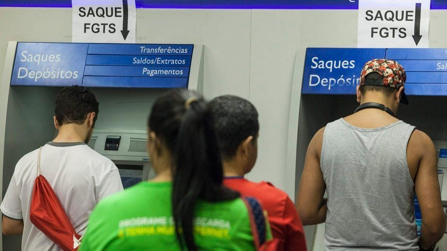 Mais de R$ 96 bilhões de saques emergenciais do FGTS foram realizados em quatro anos. (IG Minas Gerais)