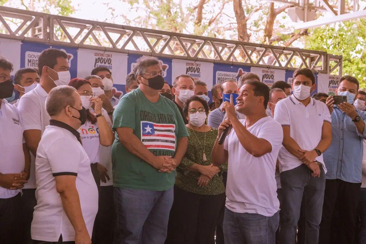 O senador Weverton Rocha é o que aparece melhor colocado na pesquisa Escutec (Foto: Divulgação)