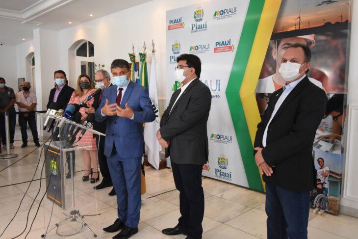Wellington Dias disse que sonha com um decreto com um Natal sem máscara (Foto: CCOM)