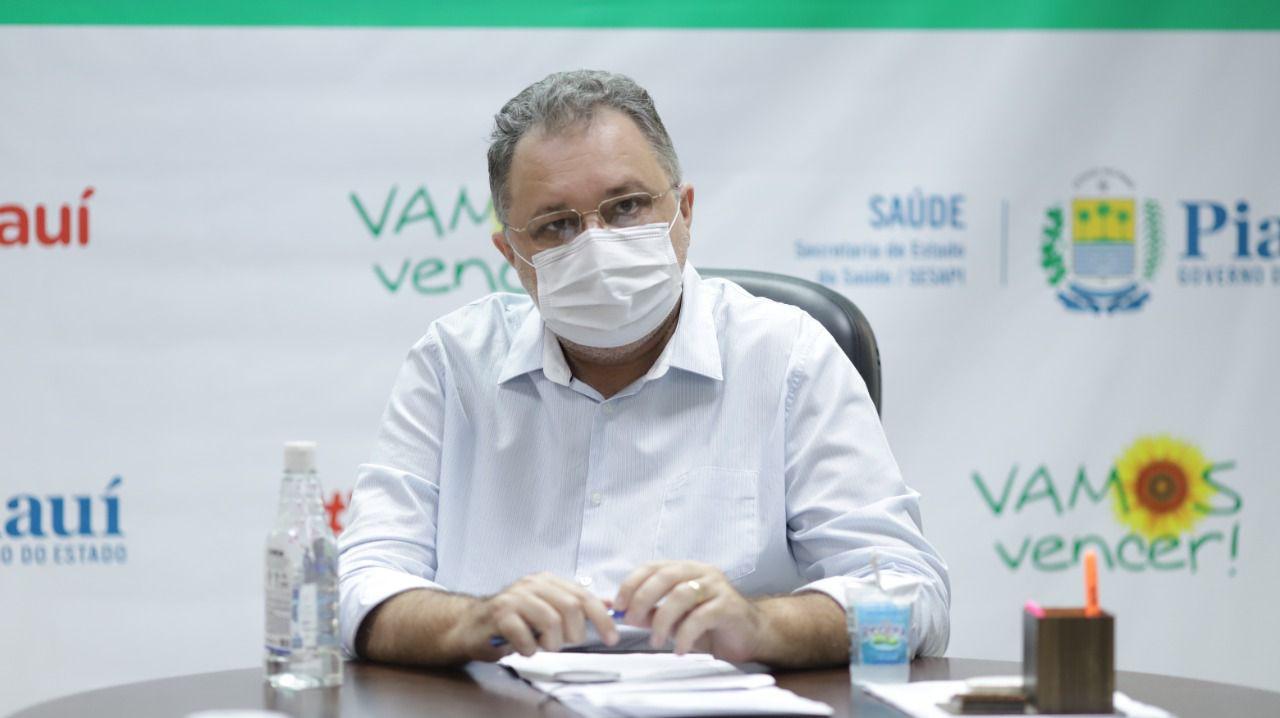 Florentino Neto destaca que o Piauí tem avançado na vacinação da população - Foto: Ccom