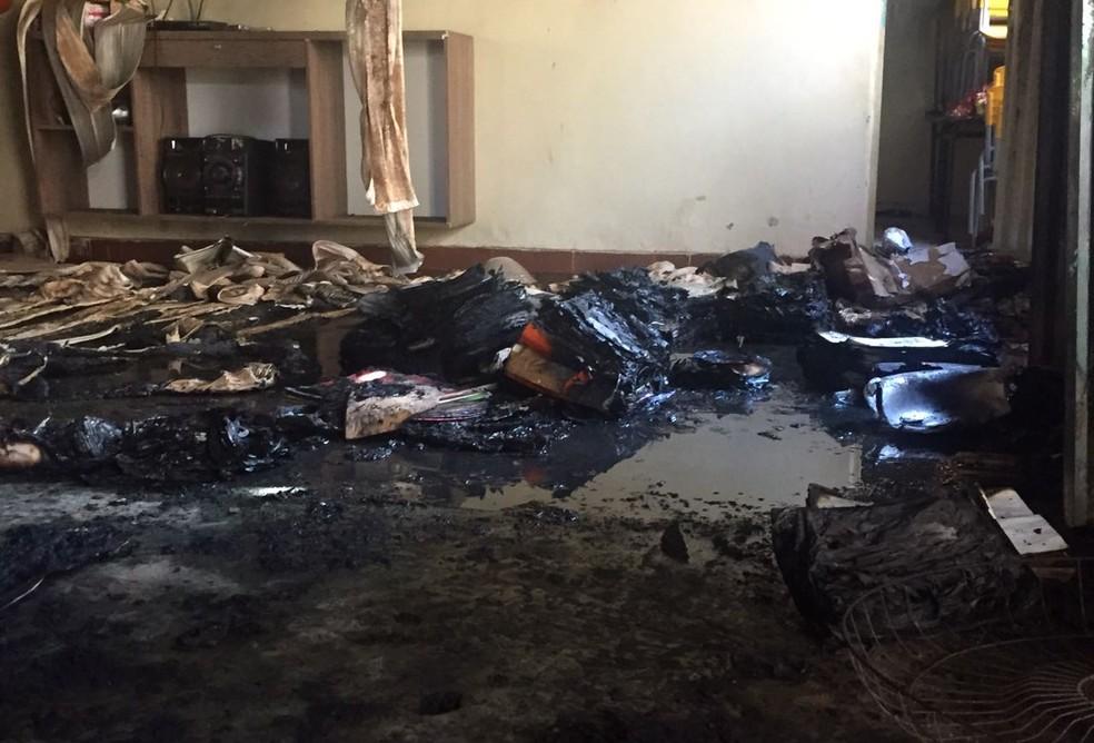 Crianças foram queimadas dentro da creche