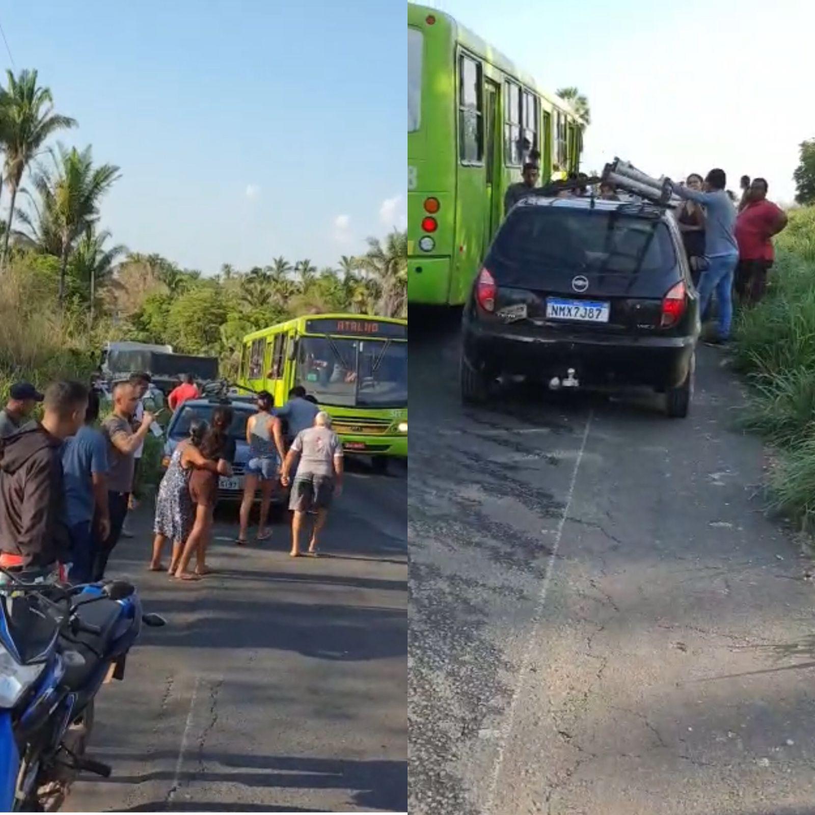 Colisão entre veículos deixou ao menos 7 feridos em Teresina