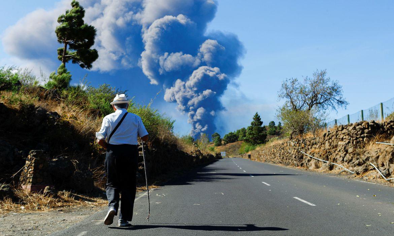 Vulcão Cumbre Vieja (Foto: reprodução)