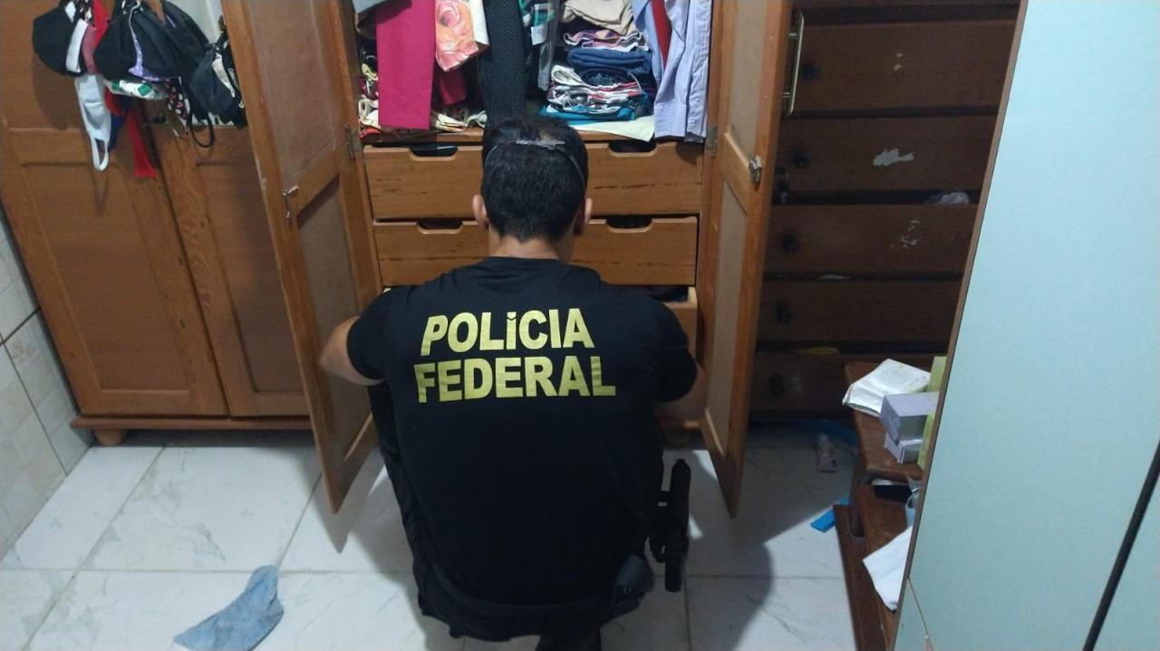 Os investigados poderão responder pelos crimes de associação criminosa e furto qualificado - Foto: Divulgação/Polícia Federal