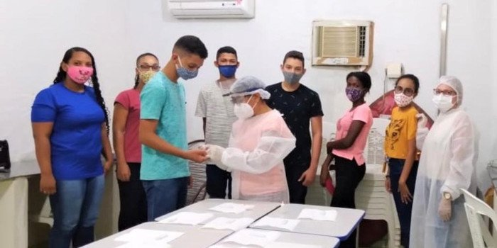Prefeitura de Hugo Napoleão realiza busca ativa em escola do município