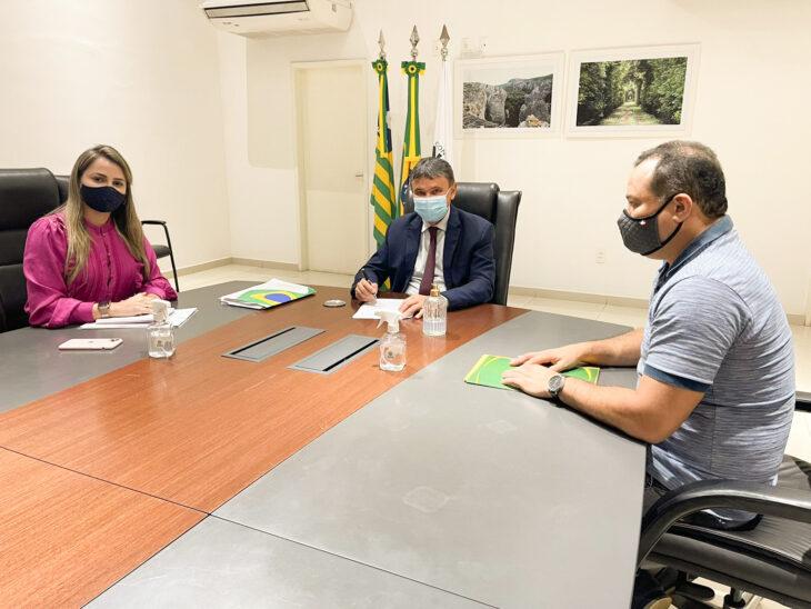 O governador demonstrou que o projeto de expansão do Metrô de Teresina está entre as prioridades de sua gestão - Foto: Ccom